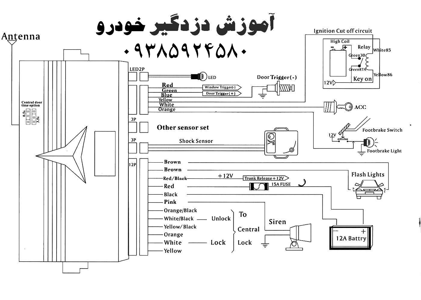 car alarm map (10) wiring diagram for viper car alarm efcaviation com viper 3100 wiring diagram at bayanpartner.co