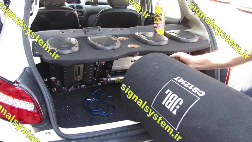 آموزش نصب سیستم صوتی خودرو