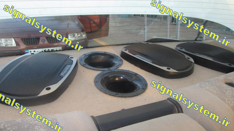 آموزش نصب سیستم صوتی ماشین
